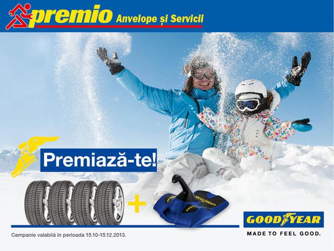 promotie anvelope iarna goodyear premio